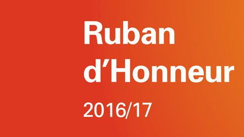 Тhe only Bulgarian company with Ruban d'Honneur recognition