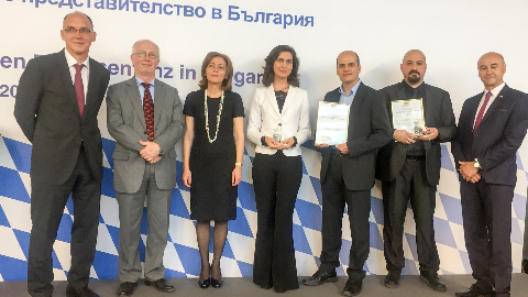 Musala Soft awarded for successful economic relations with Bavaria