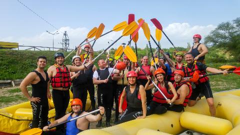 Musala Soft daredevils' Rafting Adventure