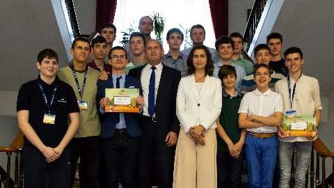 Award Ceremony of the International Programming Contest CodeIT 2018