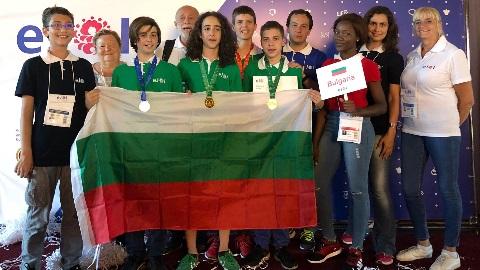 Bulgarian eJOI 2018 Team Second in Europe