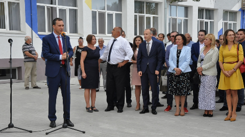 Opening of the First IT High School in Burgas
