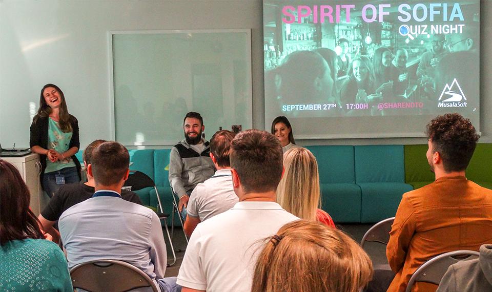 Quiz Night: Spirit of Sofia