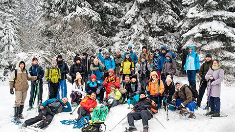 Musala Soft Snowshoes Adventure