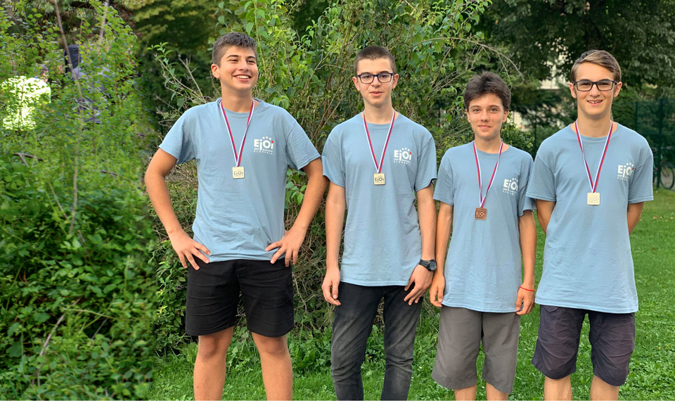 Four medals for the Bulgarian team at eJOI 2019