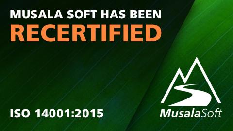 Musala Soft has been Recertified